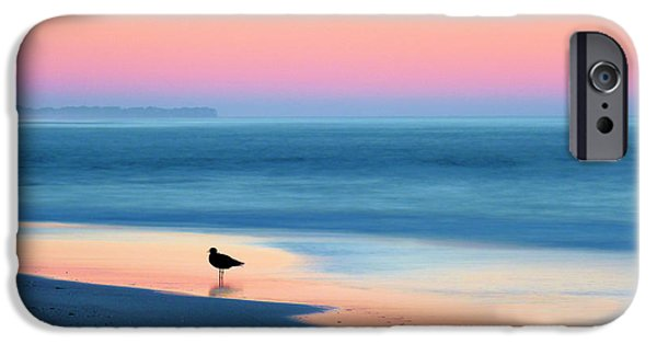 Banks iPhone Cases - The Day Begins iPhone Case by JC Findley