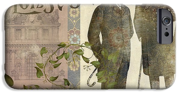 Antiques iPhone Cases - The Days Of Long Ago iPhone Case by Aimee Stewart