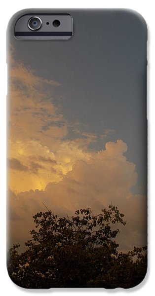 Guy Ricketts Photography iPhone Cases - The Dear Soft Darkness Comes iPhone Case by Guy Ricketts