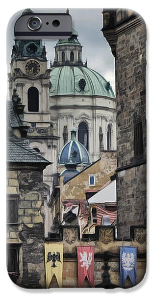 The Depths of Prague iPhone Case by Joan Carroll
