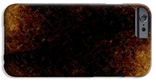 Abstract Forms iPhone Cases - The Descent iPhone Case by James Barnes