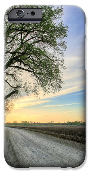 The Dirt Road iPhone Case by JC Findley