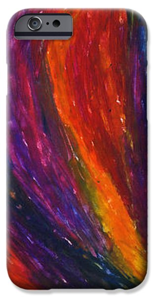 The Divine Fire iPhone Case by Daina White