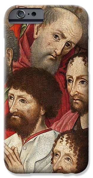 Group iPhone Cases - The Donors Oil On Panel See 382526, 382520 iPhone Case by German School