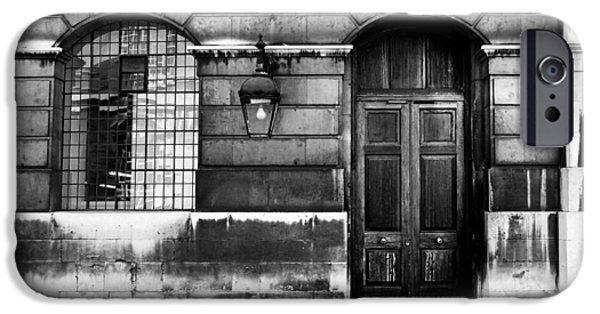 Naval College iPhone Cases - The Door iPhone Case by Mark Rogan