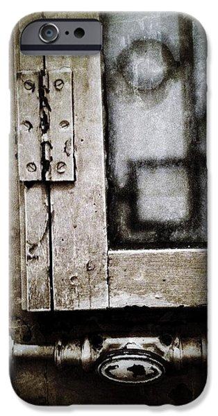 East Village iPhone Cases - The Door of Belcourt iPhone Case by Natasha Marco