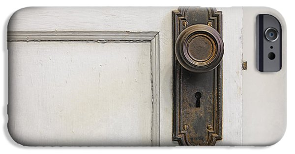 Wooden Door iPhone Cases - The Door iPhone Case by Scott Norris