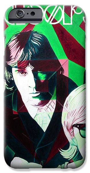 The Doors iPhone Case by Joshua Morton