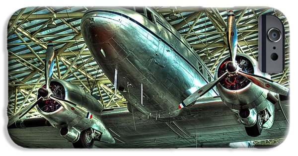 David iPhone Cases - The Douglas DC-3 Airplane iPhone Case by David Patterson