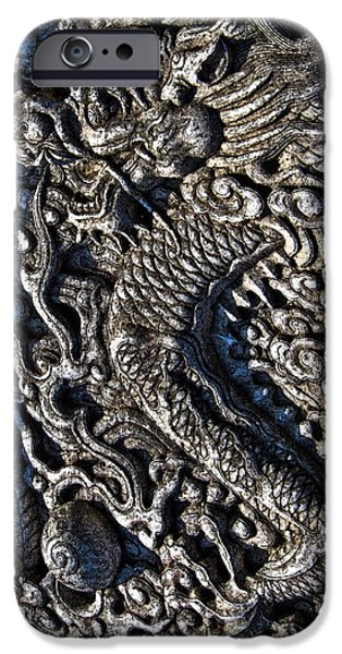 Allegoric iPhone Cases - The Dragon and the Pearl. Made in China. Beijing. iPhone Case by Andy Za
