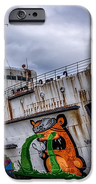 The Duke of Lancaster iPhone Case by Adrian Evans