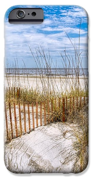 The Dunes iPhone Case by Debra and Dave Vanderlaan