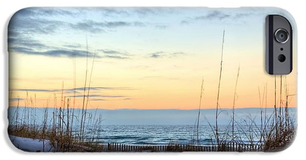 Florida Panhandle iPhone Cases - The Dunes of PC Beach iPhone Case by JC Findley