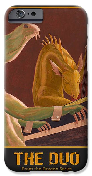 The Duo iPhone Case by Leonard Filgate