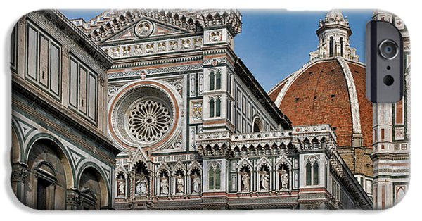The Duomo iPhone Cases - The Duomo and Baptistery of St. John iPhone Case by Ayhan Altun