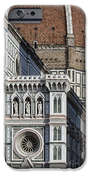 The Duomo iPhone Cases - The Duomo Detail iPhone Case by John Greim