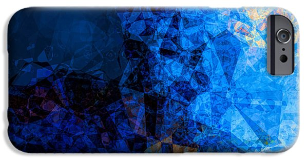 Business Digital iPhone Cases - The Edge of Night iPhone Case by Wendy J St Christopher