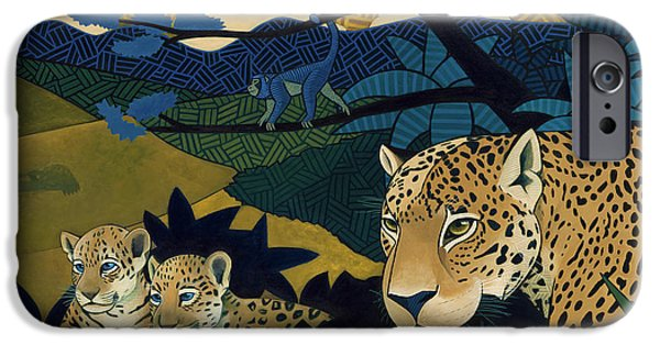 Jungle iPhone Cases - The Edge of Paradise iPhone Case by Nathan Miller