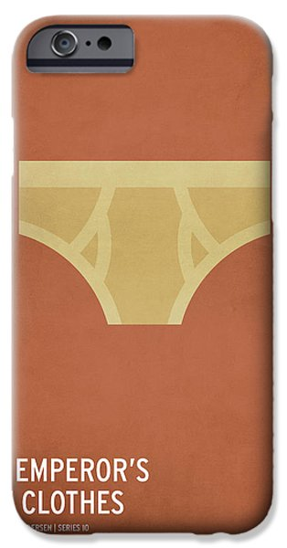 Design iPhone Cases - The Emperors New Clothes iPhone Case by Christian Jackson