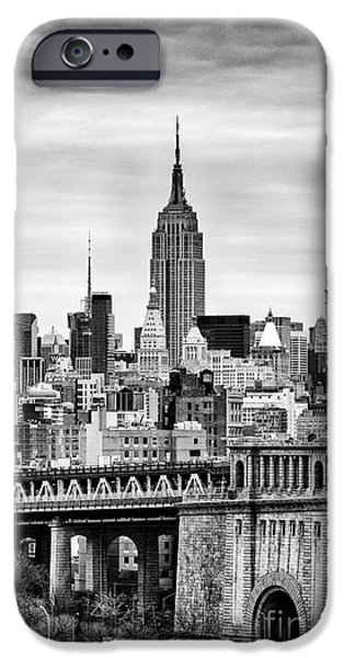 Empire State iPhone Cases - The Empire State Building iPhone Case by John Farnan