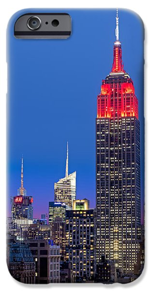 The Empire State Building iPhone Case by Susan Candelario