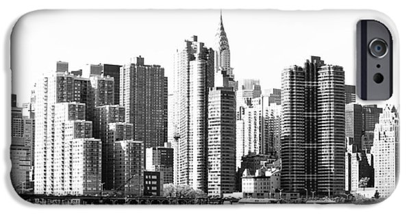 Built Structure iPhone Cases - The Empire State iPhone Case by Robert Yaeger