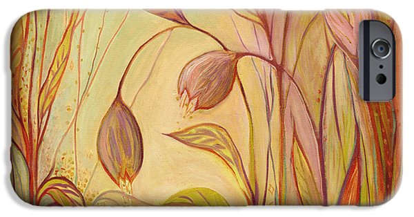 Florals iPhone Cases - The Enchantment iPhone Case by Jennifer Lommers
