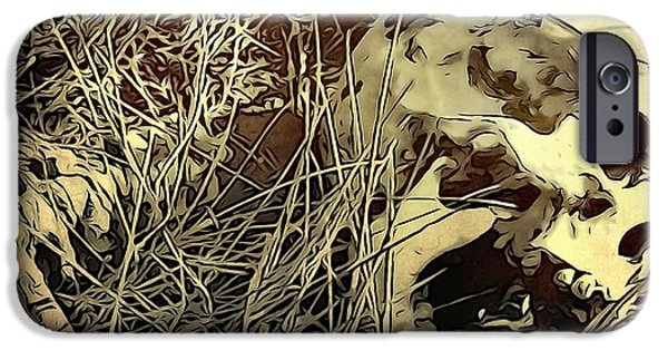 Sacrifice Mixed Media iPhone Cases - The End iPhone Case by Dan Sproul