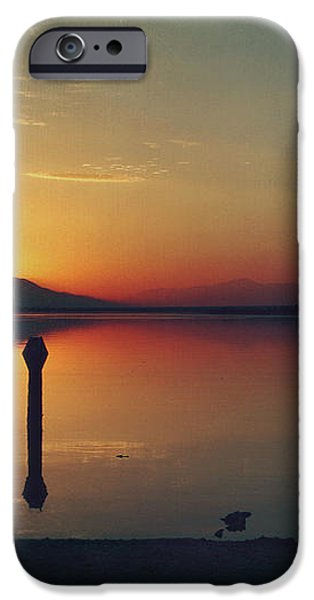 The End of Another Day Without You iPhone Case by Laurie Search