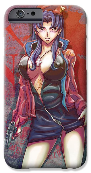 Manga iPhone Cases - The End Of Evangelion iPhone Case by Tuan HollaBack