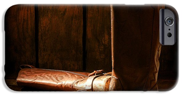 Boots iPhone Cases - The End of the Day iPhone Case by Olivier Le Queinec