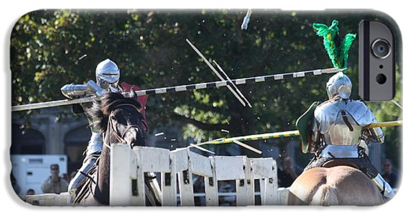The Horse iPhone Cases - The End to the Jousting Contest  iPhone Case by John Telfer