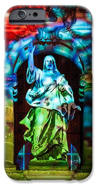 Recently Sold -  - Night Angel iPhone Cases - The Enlightenment iPhone Case by Robert Frank