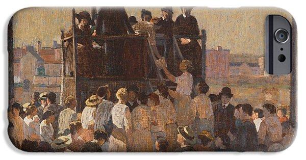 Evangelists iPhone Cases - The Evangelist iPhone Case by Robert Spencer