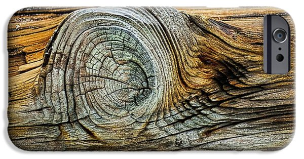 Storm iPhone Cases - The Eye in the Wood iPhone Case by Norman Gabitzsch
