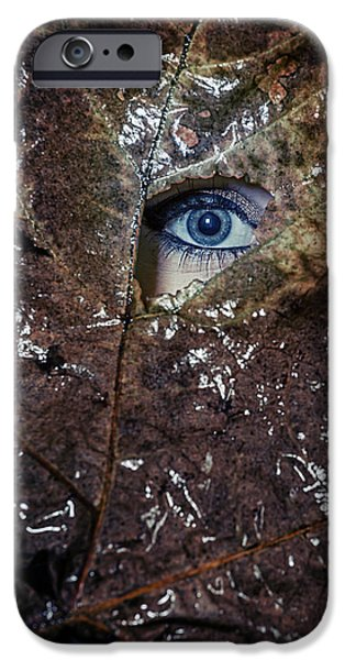Eerie iPhone Cases - The Eye iPhone Case by Joana Kruse