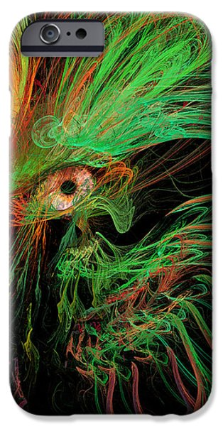 The Eye of the Medusa iPhone Case by Angela A Stanton