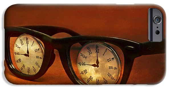 Metaphor iPhone Cases - The Eyes Of Time iPhone Case by Jeff  Gettis