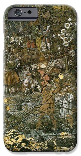 The Fairy Feller Master Stroke iPhone Case by Richard Dadd