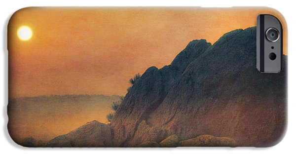 Fay iPhone Cases - The False Lovers Rock at Sunset iPhone Case by Loriental Photography