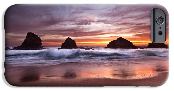 Red Rock iPhone Cases - The  fantastic four iPhone Case by Jorge Maia