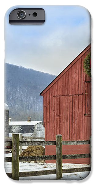 The Farm iPhone Case by Bill  Wakeley