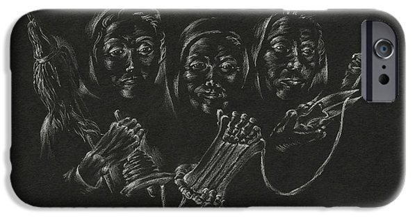 Destiny iPhone Cases - The Fates iPhone Case by Michele Myers