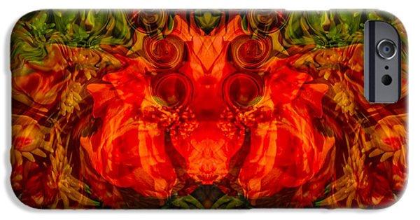 Ceramic Mixed Media iPhone Cases - The Fates iPhone Case by Omaste Witkowski