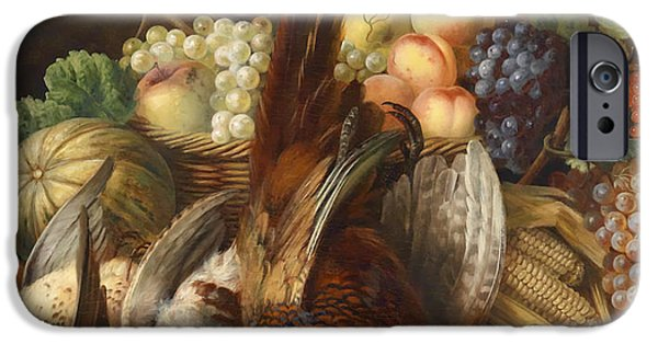 Concept Paintings iPhone Cases - The Feast iPhone Case by Coreggio