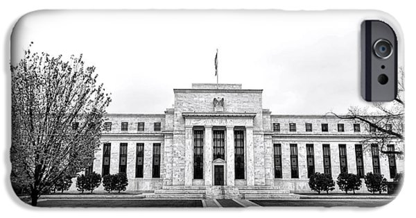 Constitution iPhone Cases - The Federal Reserve  iPhone Case by Olivier Le Queinec