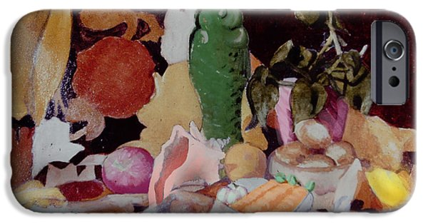 Still Life With Fish iPhone Cases - The Fight We Never Had iPhone Case by David Zimmerman