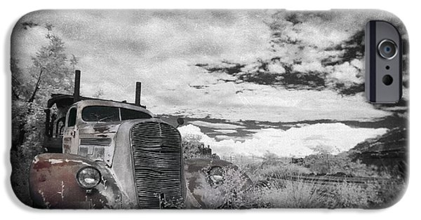 Old Truck iPhone Cases - The Final Stop iPhone Case by Sean Foster