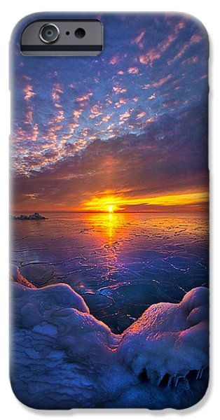 Chicago iPhone Cases - The First Gift iPhone Case by Phil Koch