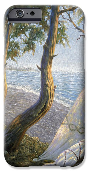 Bravery iPhone Cases - The First Staten Islander iPhone Case by Gregory Perillo